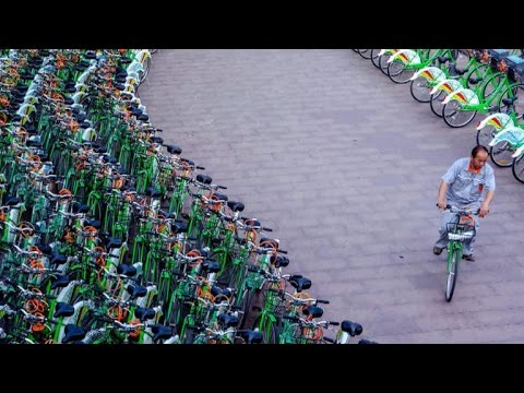 China turns to bike share to help decrease pollution