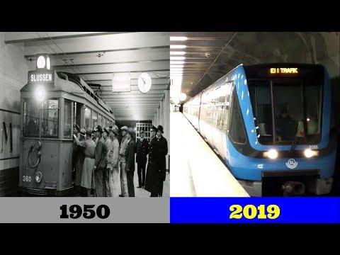 The Evolution of Stockholm Metro Animation