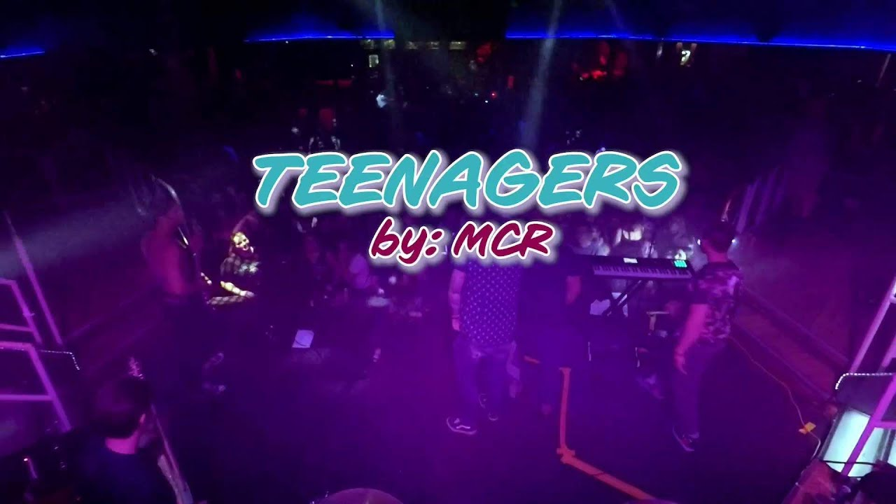 Teenagers by My Chemical Romance   Silver Lining Emo Night Cover