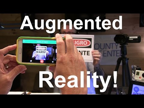 Augmented Reality Translator App - Google Translator
