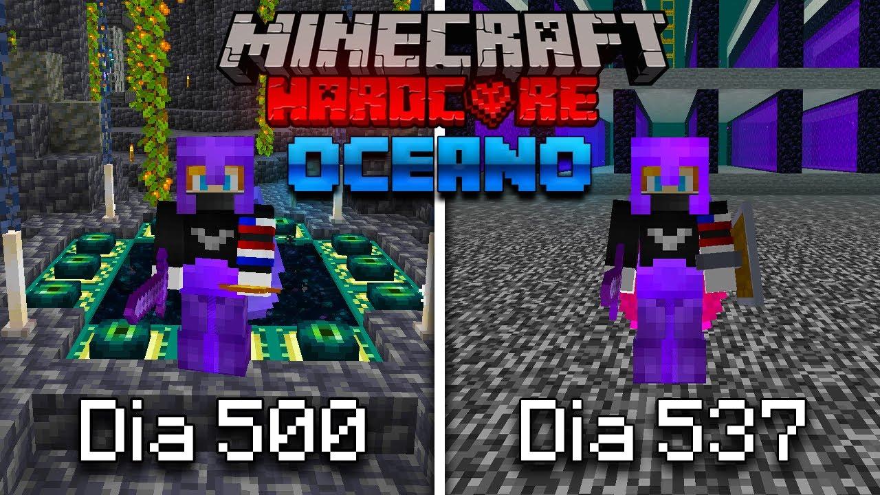 Download SOBREVIVÍ 1000 Días en un OCEANO en Minecraft HARDCORE? Esto es lo que pasó