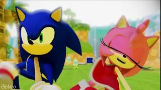 [Sonic x Amy Rose] Dame Tu Cosita Challenge (Sonic Hedgehog Animation 2018)