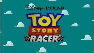 Toy Story Racer (2001) PSX Gameplay Woody