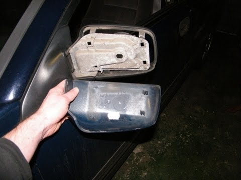 Side Mirror (Wing Mirror) Back Cover Replacement