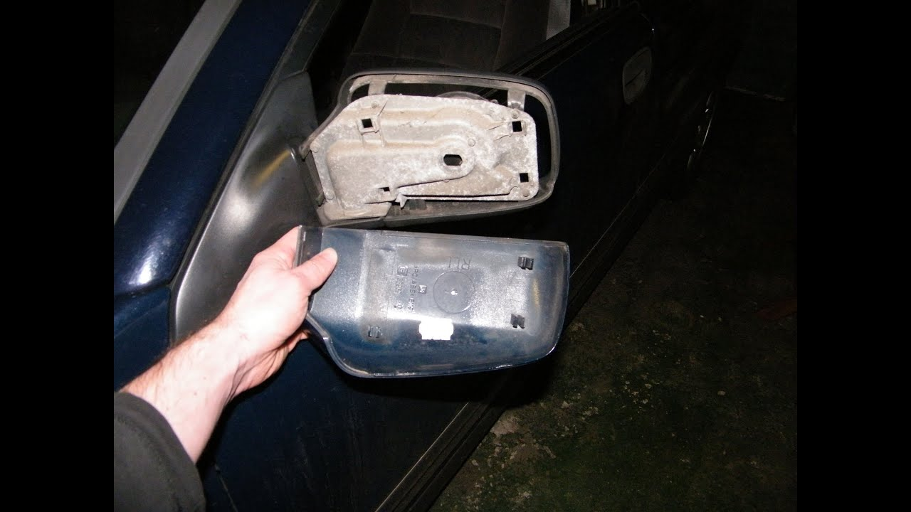 Side Mirror (Wing Mirror) Back Cover Replacement  YouTube