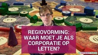 Regiovorming: waar moet je als corporatie op letten?
