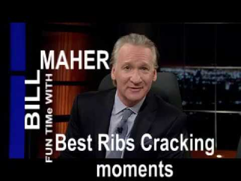 SHOCKING! Bill Maher BEST Ribs Cracking MomentS... BEST EVER