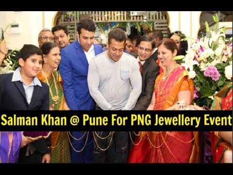 Salman Khan In Pune For GRAND Inauguration Of PNG Jewellers