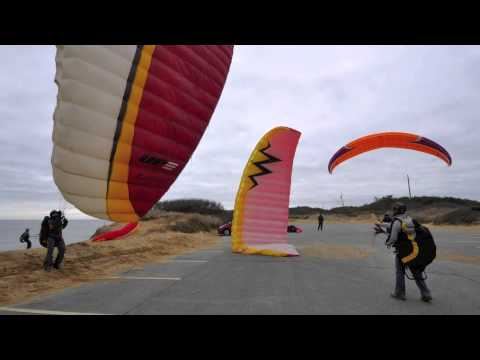 Paragliding-Cape Cod National Seashore