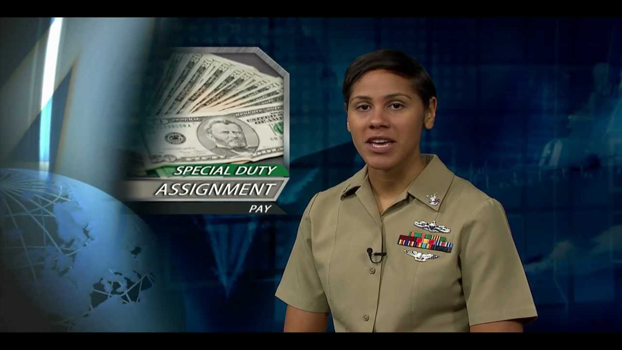 special duty assignment pay air force