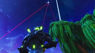 Excellent view of the the Rocket Launch Event - Fortnite