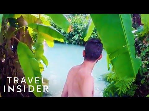 Swim In Crystal Clear, Bubbling Water In Brazil