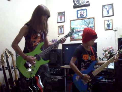 Loudness. heavy chains. Cover by 8 & 13 yrs old