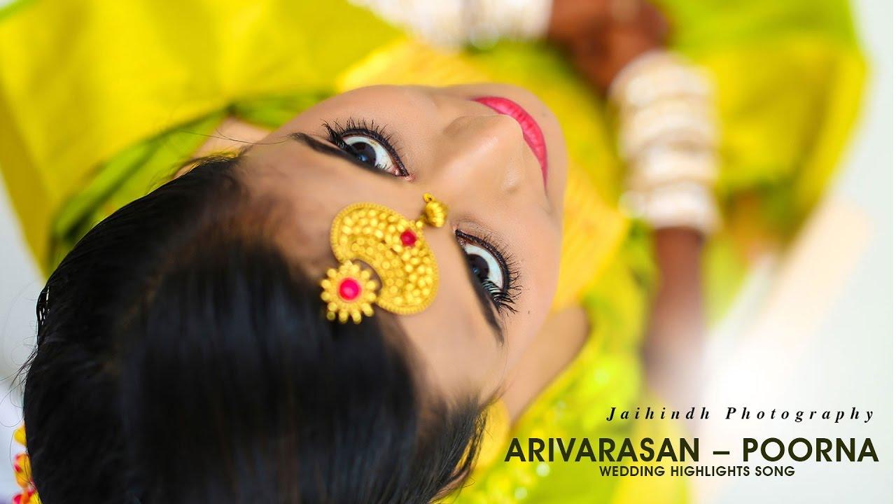 Arivarasan Poorna Wedding Highlights Song Youtube