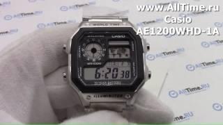 Обзор. Мужские наручные часы Casio AE-1200WHD-1A