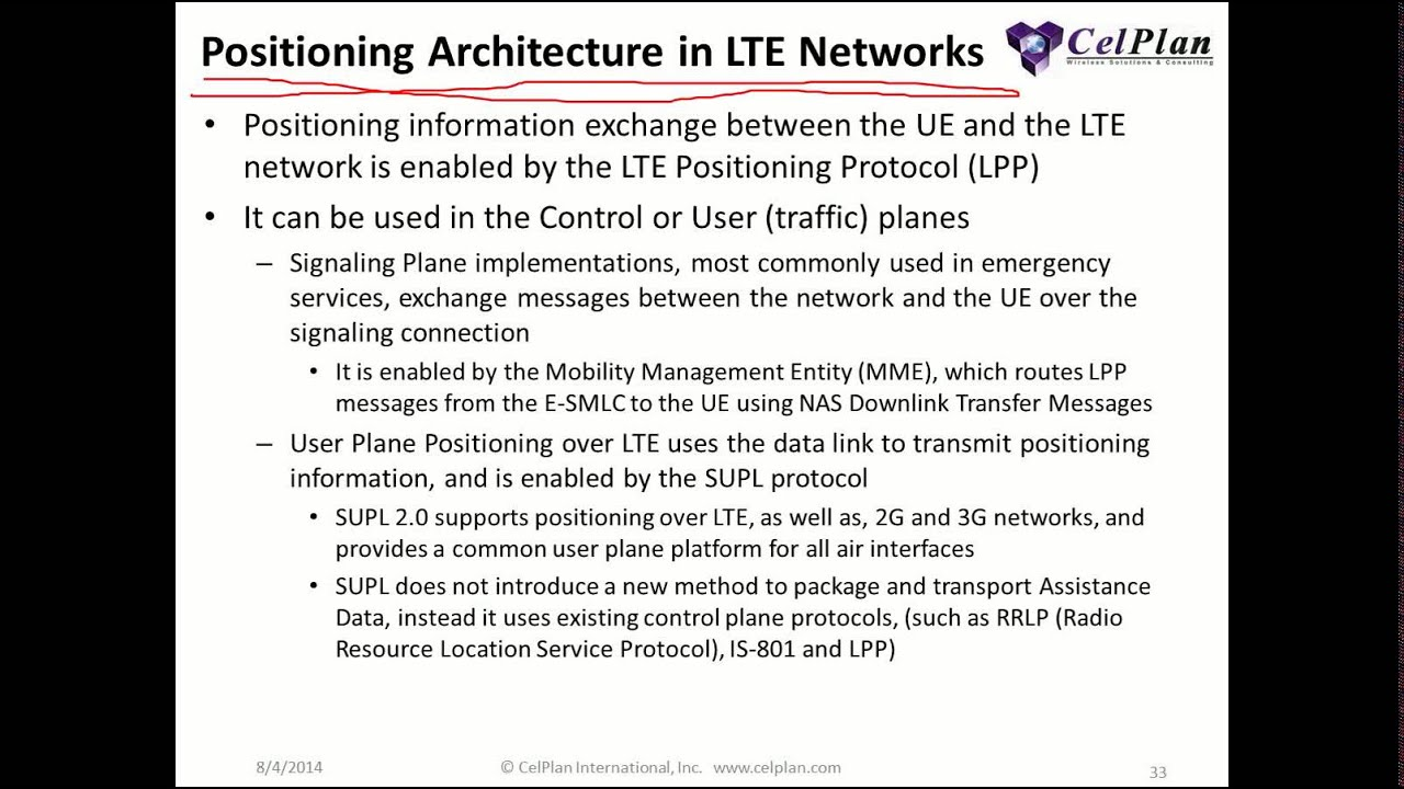 LTE Network Design and Planning