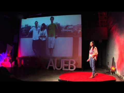Being creative and entrepreneurial | Zoi Kantounatou | TEDxAUEB