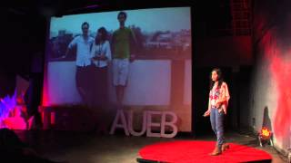 Being creative and entrepreneurial | Zoi Kantounatou | TEDxAUEB