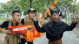 Download Video Nerf War: Special Force SWAT Nerf Guns Mask Buffalo Assassins Rescue Weapons MP3 3GP MP4