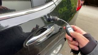 LOM GeoFon Test 3 - Car Doors, Locks and Wipers = Nice Weighty Sounds