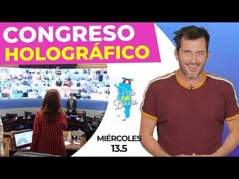 Congreso HOLOGRÁFICO | PDB de tardecita | Miércoles 13-05-20