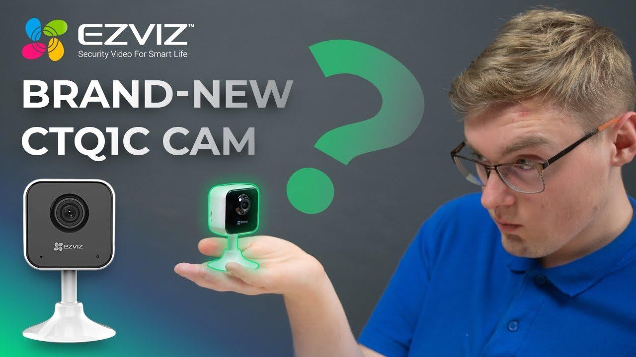 Download EZVIZ CTQ1C Brand-new Home Wifi Camera 2019 Review & Test - What Is That? [C1HC]