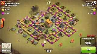 MOST HEROIC DEFENSE AT WAR in clash of clans !