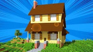 Xây Nhà Siêu Dễ ( Minecraft )