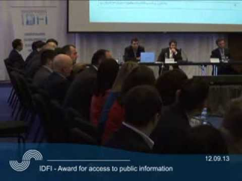 IDFI - Award for access public to information