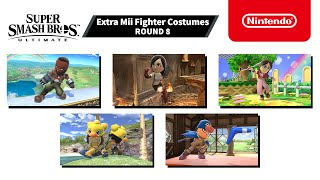 Super Smash Bros. Ultimate - Mii Fighter Costumes #8 - Nintendo Switch