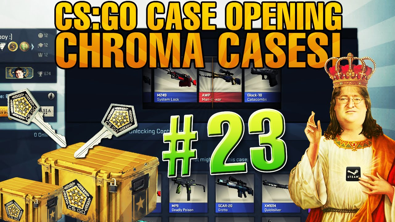 cs go case opening 23 30 chroma cases youtube. Black Bedroom Furniture Sets. Home Design Ideas