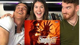 SINGHAM | Ajay Devgan | Trailer REACTION!!
