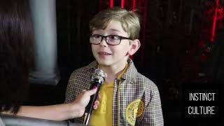 SUPER CUTE Interview w/ Julian Hilliard | The Haunting of Hill House | Netflix