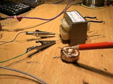 choke coil in tube lights