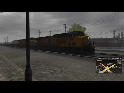 ATS Railfanning #3 - 3 Hours! An Eventful Day On The UP/BNSF Artesia Subdivision - 1.37 Public Beta