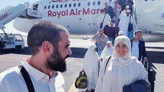 wissal & ali 🤲🕋الحمدلله وصلنا من العمرة لبلادنا فاجؤونا محمد فالمطر