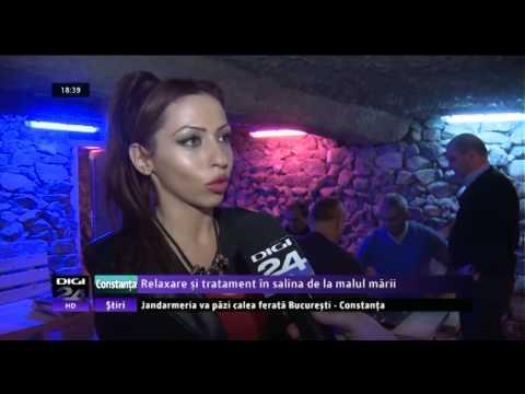 Salina Marea Neagra - Salina Constanta - Reportaj Digi24