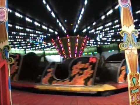 """The Caterpillar Ride"" -1950's Fairground Ride at Folly Farm"