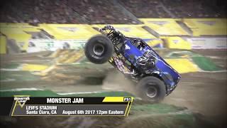 Monster Jam in Santa Clara 2017   Sunday August 6th on FS1