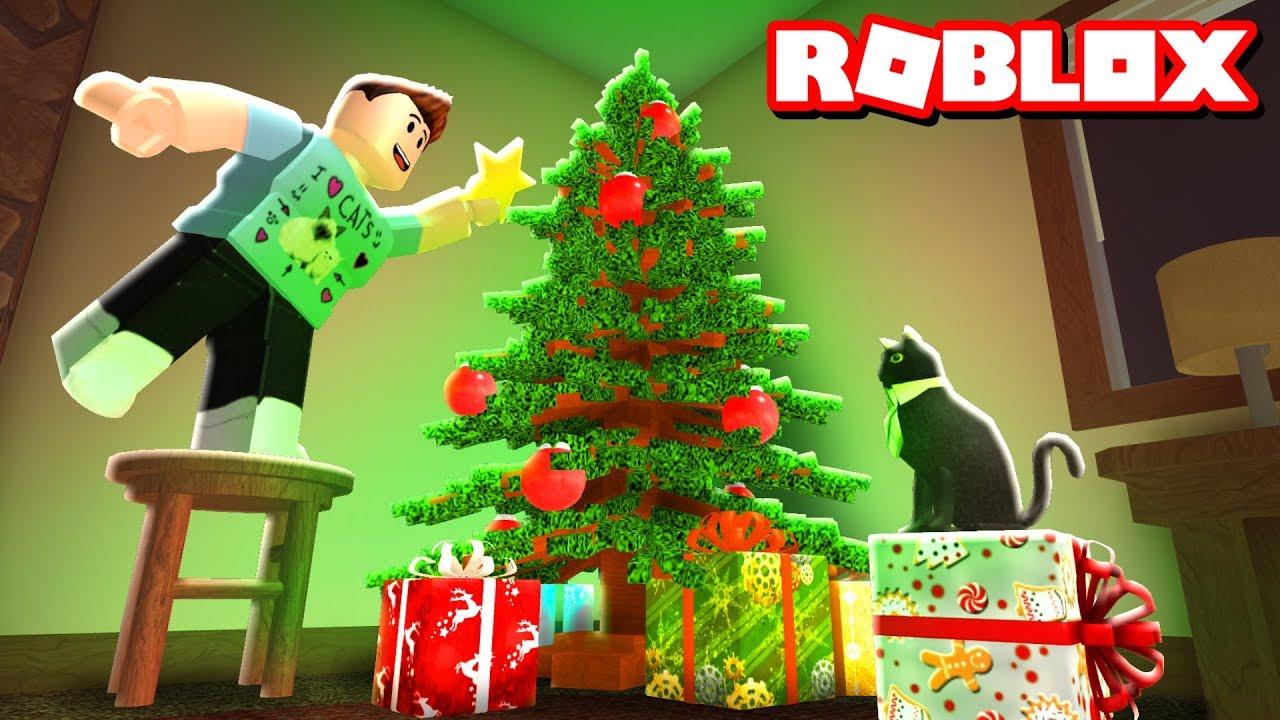 A Bloxburg Christmas Roblox Adventures Youtube