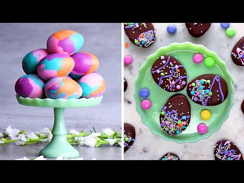 Last Minute Easter Treats | DIY Easter Egg Decorating Ideas By So Yummy | Spring 2018
