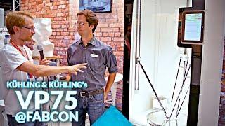 Kühling&Kühling's crazy industrial delta 3D printer @FabCon3D
