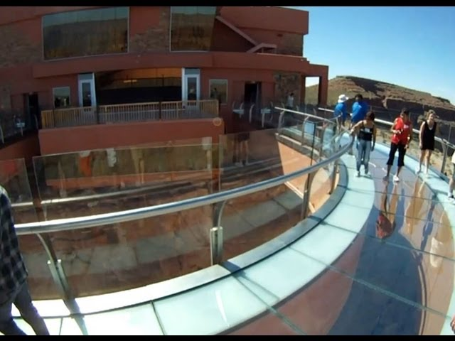 Grand Canyon Skywalk First Person View Travel Video