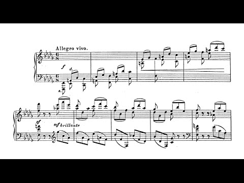 Sergei Lyapunov - Tarantella Op. 25 (audio + sheet music)