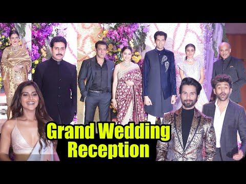 Grand Wedding Reception Of Sooraj Barjatya Son Devaansh. S. Barjatya | Full Video Mp3