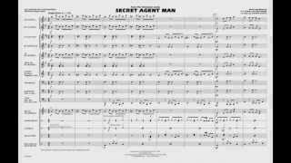 Secret Agent Man arranged by Johnnie Vinson