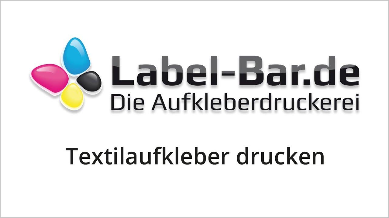 Textiletiketten Textilaufkleber Nach Wunsch Label Barde