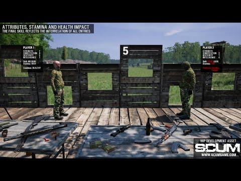 SCUM - Rifle & Sniping Skills [Pre-Alpha]