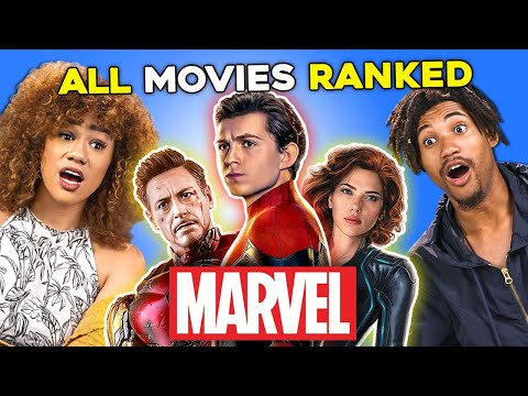 331 People Rank Their Top 10 Favorite Marvel MCU Movies | Generations React