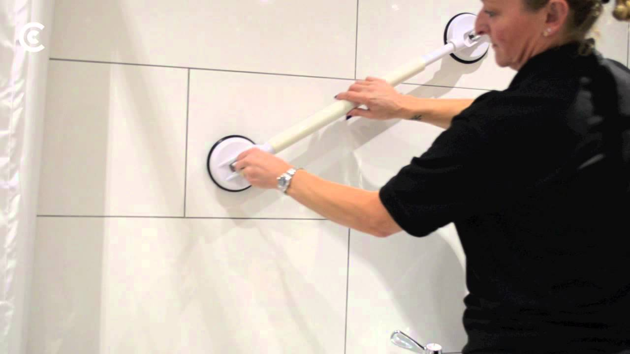 Suction Cup Grab Bars - YouTube